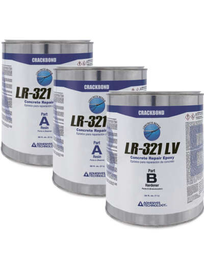 CRACKBOND LR-321 LV 3 gal kit