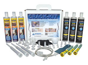 Crack Kit with Box2 Path1 to use before epoxy resin paint