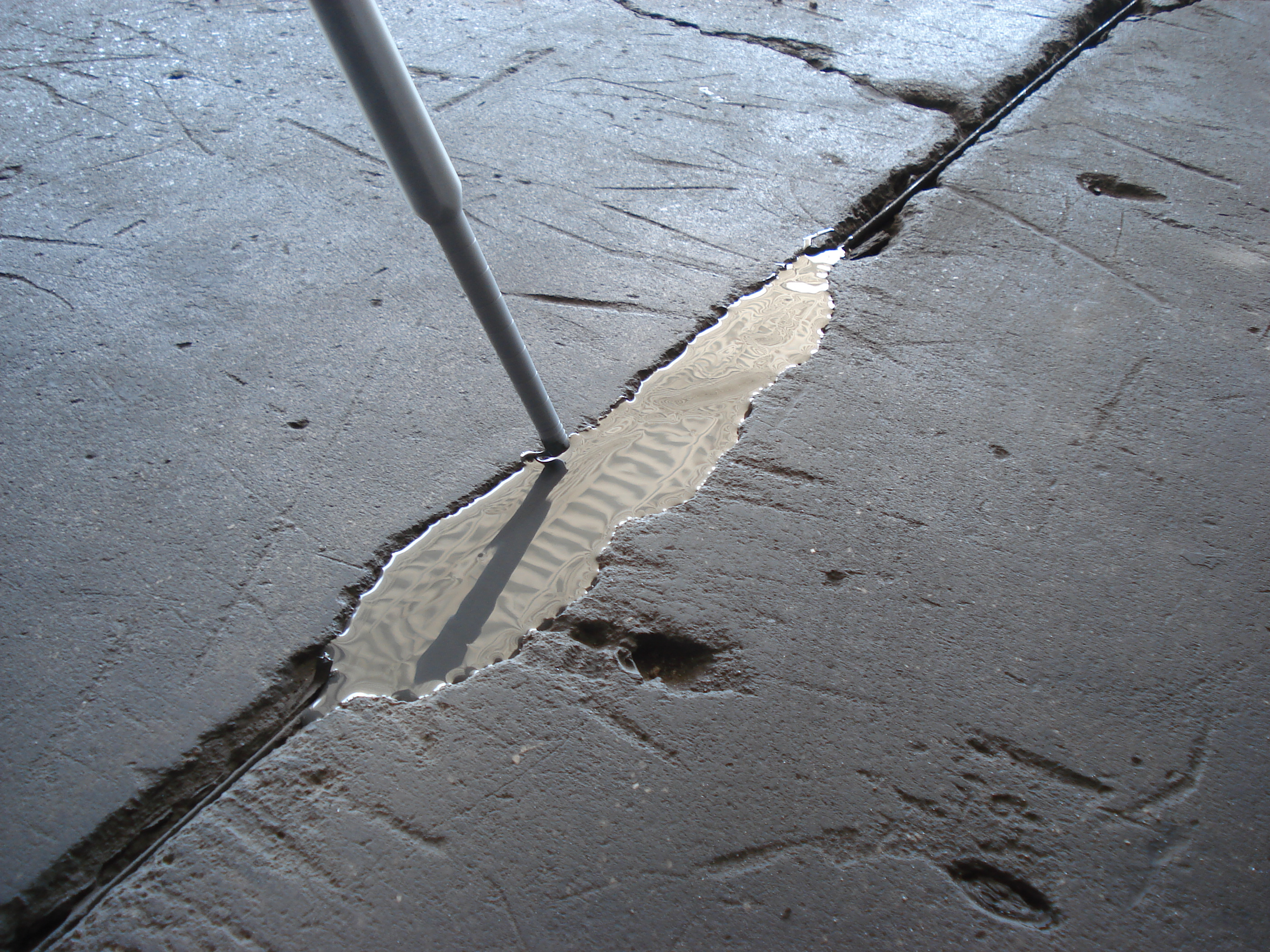 profile job transformed painted old awesome floor crack with ugly garage of repair floors new