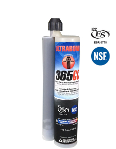 ULTRABOND 365CC adhesive anchor system