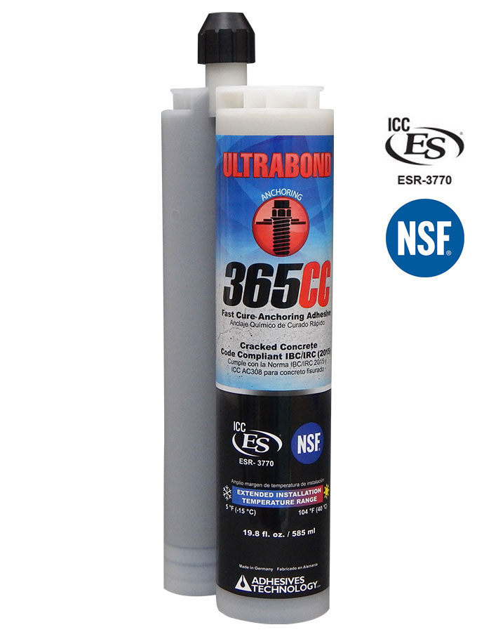 Cracked Concrete Anchoring Adhesive Ultra Bond 3655cc