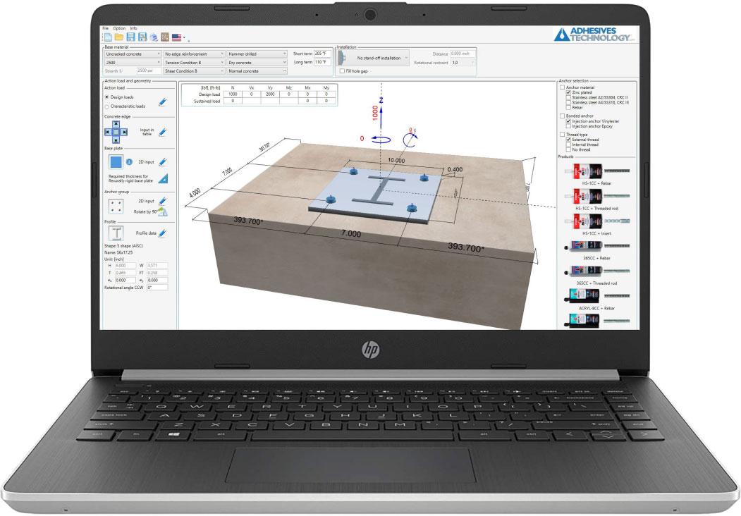 Pro Anchor Design software