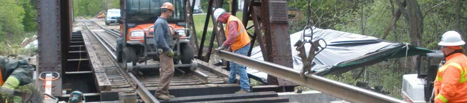 epoxy being used by the railroad industry